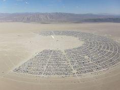 Black Rock City at Burning Man festival... Amazing place...