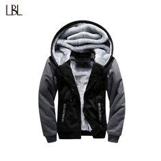 BUY now 4 XMAS n NY! USA SIZE 2017 Men Winter Autumn Blank Pattern European  Fashion Bomber Mens Vintage Thick Fleece Jacket Men Winter Jackets Coats ... 442caedc3298d