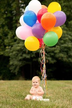 1st birthday pic idea