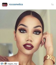. ・・・www.rc-cosmetics.com Love this look @makeupbyalinna