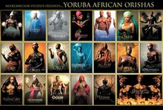 Orishas by Noire 3000 aka James C. Lewis