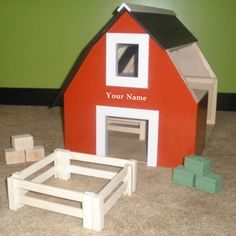 Hey, I found this really awesome Etsy listing at https://www.etsy.com/listing/166400488/customized-wooden-toy-barns-stables-with