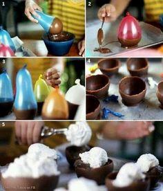 Chocolate dessert!