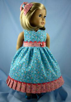 18 Inch Doll Clothes fit American Girl  от SewMyGoodnessShop, $20.00