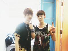 Jin and Jin XD kpop -  kidoh,  #jin hyosang,  topp dogg -  bighit