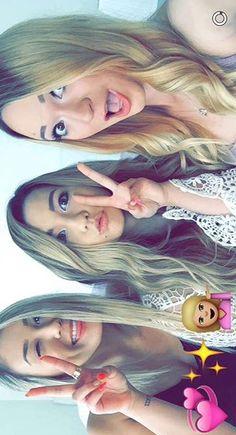 Mia, Lauren, Alisha #Milaurisha