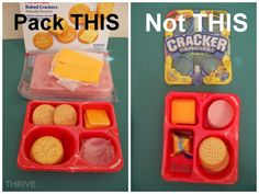 Pack This, Not That for school lunches