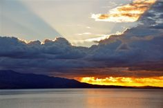 Dramatic sunset clouds over Corfu Greece [1600 x 1063][OC]