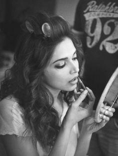 Preparation. #Deepika #Bollywood