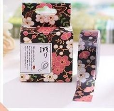 Vintage Japanese Blossoms Washi Tape