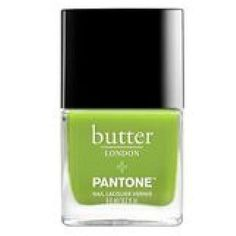 Pantone goes fresh and spring-y with Greenery as its 2017 color ❤ liked on Polyvore featuring nail