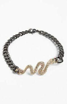 Guinevere Snake Chain Bracelet available at #Nordstrom