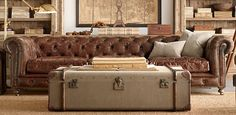Restoration Hardware - magnificent vintage products and expertly crafted furniture!