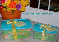 Easter Basket ideas for Adults | EASTER BASKET ALTERNATIVE! « The Seasonal Home