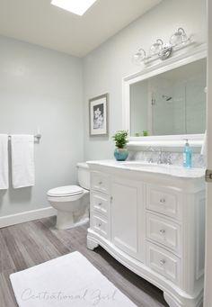bathroom remodel. That floor.