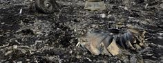 Debris from Malaysia Airlines Flight MH17 (Alexander Khudoteply/AFP) Heavy fighting rages around MN17 crash site Ukraine officials step up efforts to take territory from rebels as investigators stay away. Flight recorder revelation...