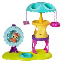 Littlest Pet Shop Playtime Park with Russell Ferguson from Hasbro