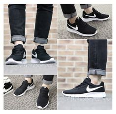 nike tanjun with jeans