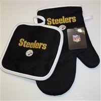 NFL Pittsburgh Steelers Oven Mitt & Pot Holder – 460 Sports
