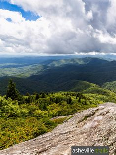 Devil's Courthouse Trail: Hike the Blue Ridge Parkway to stunning panoramic views from a  towering precipice southwest of Asheville, NC