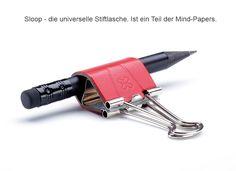 Stiftklemme, Stift-Schlaufe, Pen-Loop, Stift-Klammer, Stifthalter, Briefklemme, Foldback-Klemme, Maulys
