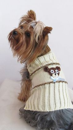 Dog clothes - dog swaeter, dog jumper puppy, doggie pet clothes, sweater, dog coat Clothing Small, Medium, Large, other sizes  $16