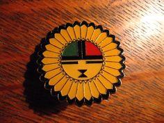Kachina Dolls Lapel Pin - American Indian Spirit Tawa Sun Shield God Doll Pin