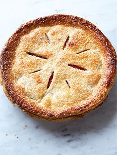 """Flaky Nectarine Pie - The famously addictive pie that President Barack Obama joked had """"crack"""" in it really just had plenty of butter, lard, and cream. Former White House pastry chef Bill Yosses shared the recipe just in case you needed proof that the confection was drug-free."""" : greatideas.people"""