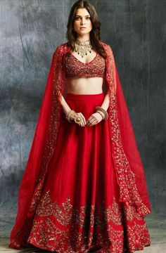 Priyanka Chopra Sabyasachi Lehenga Cost Similar Budget Lehengas In Red Sabyasachi Wedding Lehenga, Red Wedding Lehenga, Bollywood Lehenga, Red Lehenga, Bridal Lehenga Choli, Indian Lehenga, Ghagra Choli, Anarkali, Bridal Lehenga Collection