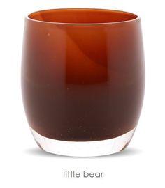 little bear | glassybaby $44 + forever free shipping