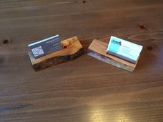 A Couple Business Card Holders
