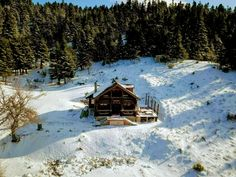 Great View, Log Homes, Greece, Cabin, House Styles, Timber Homes, Greece Country, Wood Homes, Cabins