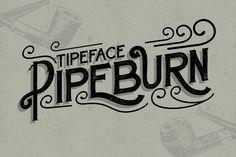Pipeburn Typeface by Try&Error Studio