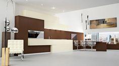 Muebles de #cocina Atlanta, de la colección de Keuken, de venta exclusiva en DECORactiva.
