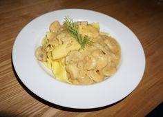 Recipe: Shrimp Truffle Pasta by Nikki Bergmans.