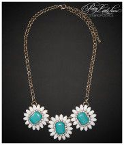 Aeropostale Pretty Little Liars Aria Daisy Long-Strand Necklace