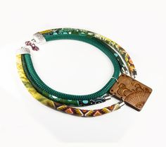 STATEMENT boho african  NECKLACE for woman by bussolacreazioni