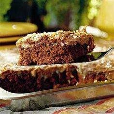 German Chocolate Sheet Cake Recipe | MyRecipes.com