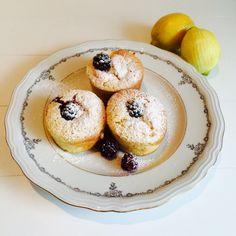 bramenmuffins met citroen