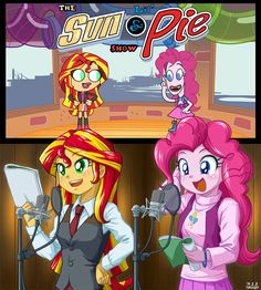 The Lil' Sun and Pie by uotapo on DeviantArt