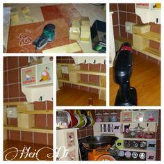 ordnungs systeme aus kartons und obstkisten kartons mit geschenkpapier beklebt heidi. Black Bedroom Furniture Sets. Home Design Ideas