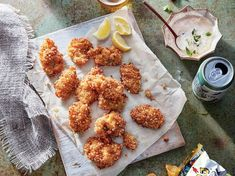 Potato Chip-Crusted Fried Oysters | Learn how to make Potato Chip-Crusted Fried Oysters . MyRecipes has 70,000 tested recipes and videos to help you be a better cook