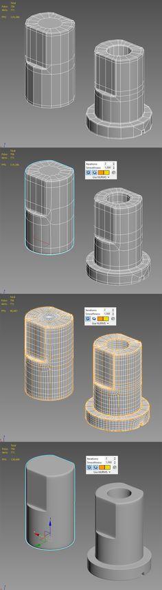 Zbrush Tutorial, 3d Tutorial, Modeling Techniques, Modeling Tips, Polygon Modeling, 3ds Max Tutorials, Hard Surface Modeling, Blender Tutorial, 3d Mesh