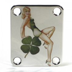 AxetremeCreations is proud to offer COLOR neck plates for your custom guitar! These are made to fit all Stratocaster, Telecaster and bass guitars. Guitar Neck, Guitar Parts, Colour Images, Pin Up Girls, Irish, Bass Guitars, Pinup, Plates, Vintage