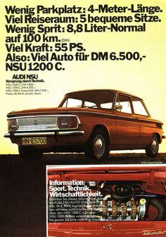 NSU 1200 C (1971) Typ 110 - Viel Auto für DM 6.500,- | Flickr