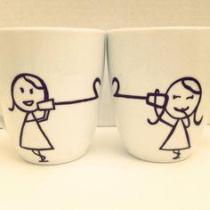 Best friend long distance mug. Perfect gift!