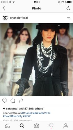 5th Avenue, Winter 2017, Karl Lagerfeld, Costume Design, World Of Fashion, Winter Fashion, Runway, Chanel, Street Style