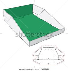 Stock Images similar to ID 148709786 - pyramid box template with...