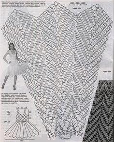 Nana crochê: Vestido de crochê