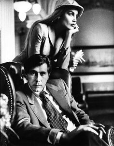 Jerry Hall With Bryan Ferry in Amsterdam//